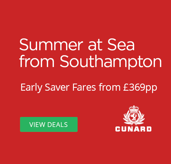 cunard summer at sea