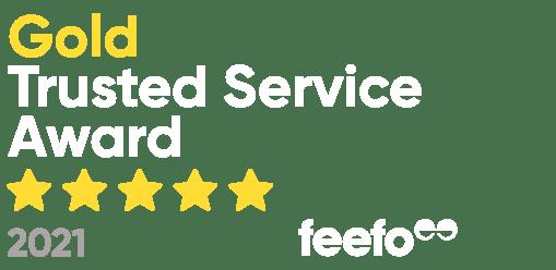 Feefo Trusted Service Award